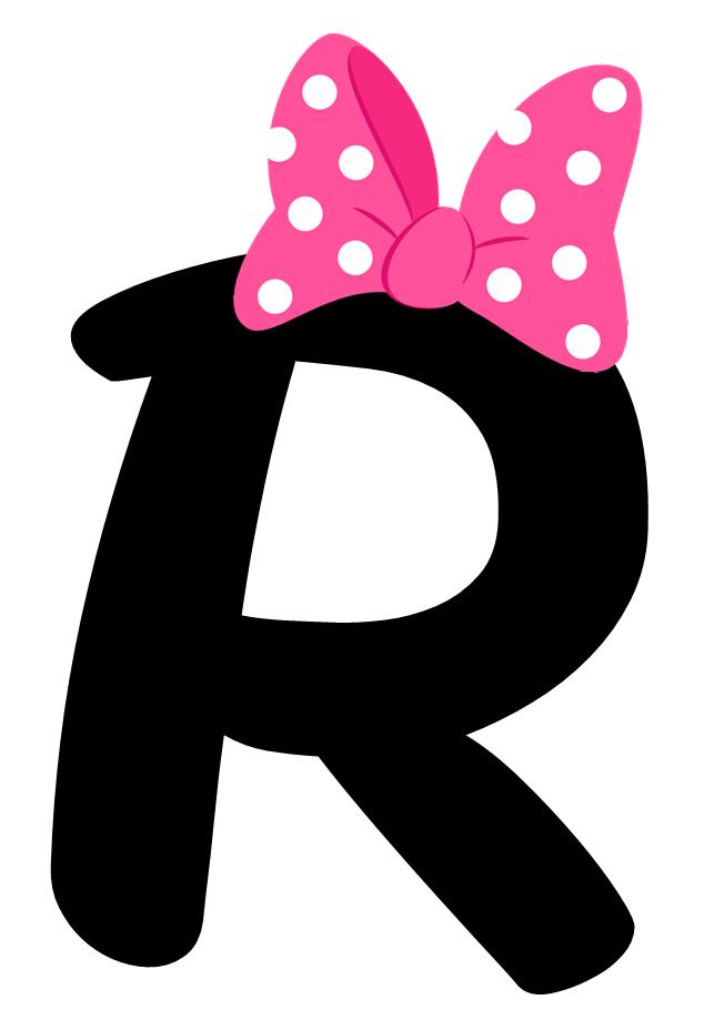 Pin de vera en pinterest letras minnie y letra de for Formas de letras para cumpleanos
