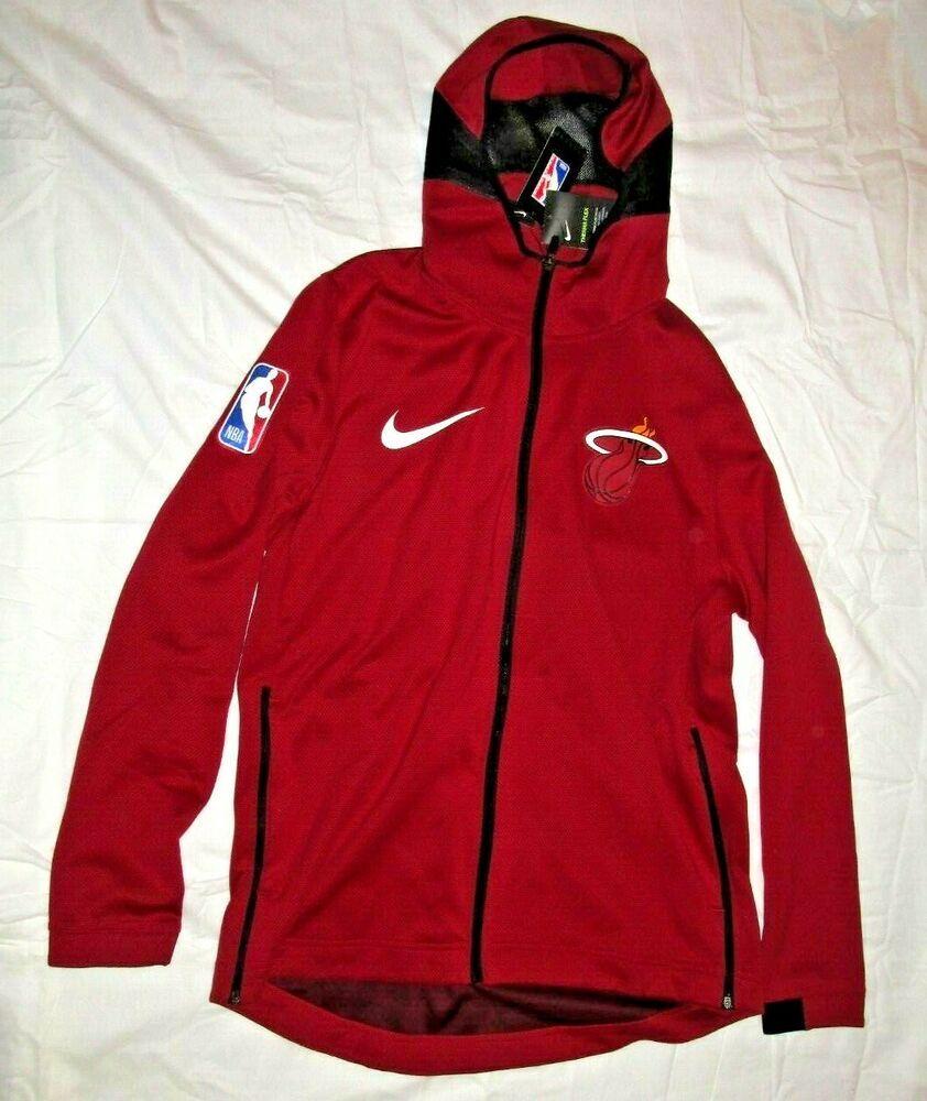 Nike Miami Heat Therma Flex Showtime Hoodie Mens Xl Red Nike Mens Xl Hoodies Showtime Lakers