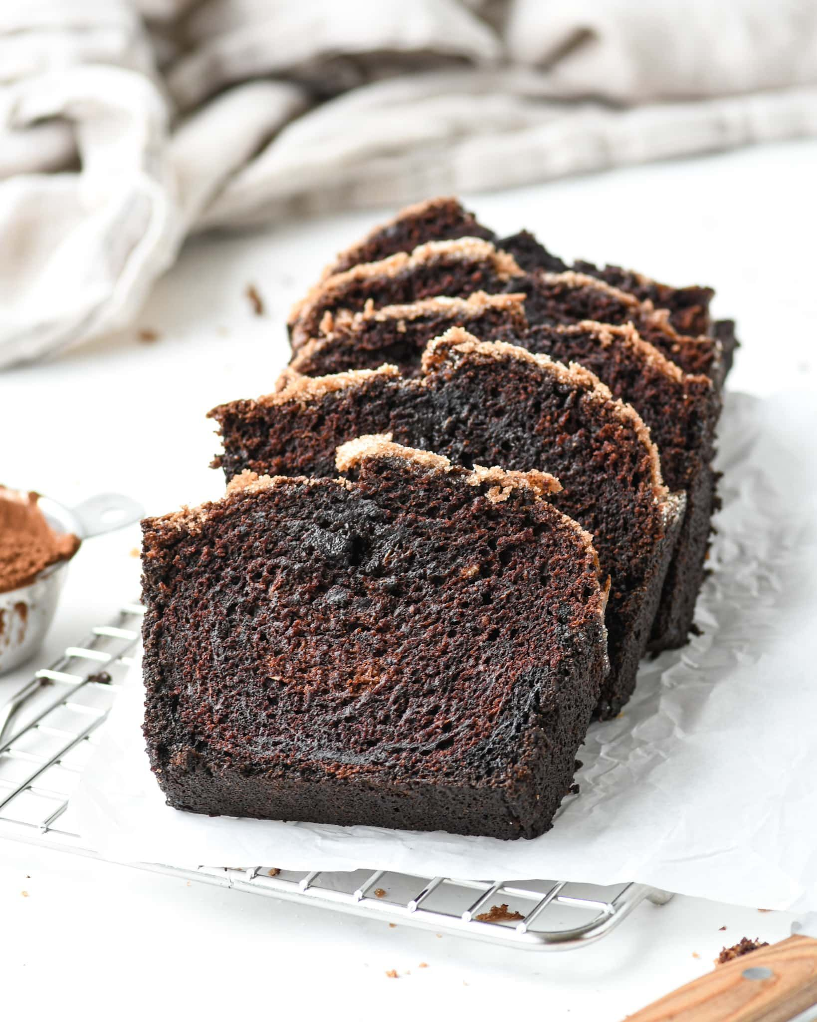 Olive Oil Chocolate Zucchini Bread Buttermilk By Sam Recipe In 2020 Chocolate Zucchini Bread Chocolate Zucchini Chocolate Bread
