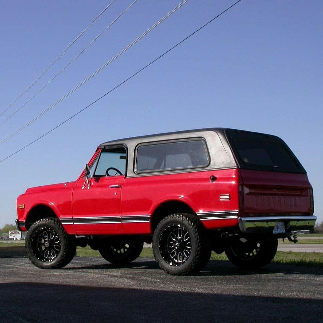 1972 K5 Blazer Classic Chevy Trucks Chevy Trucks K5 Blazer
