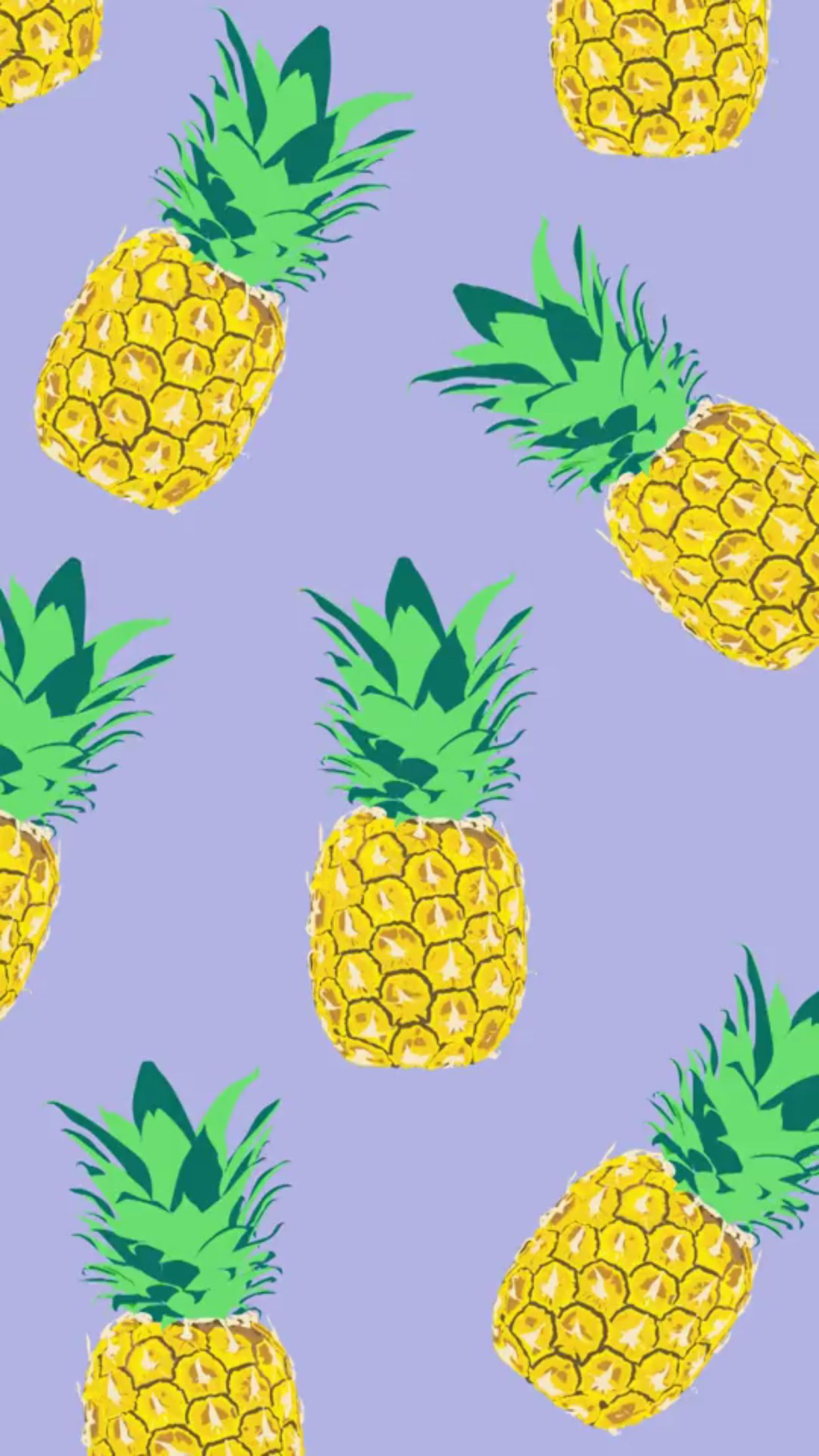 Pineapple wallpaper Wallpaper Pinterest Wallpaper