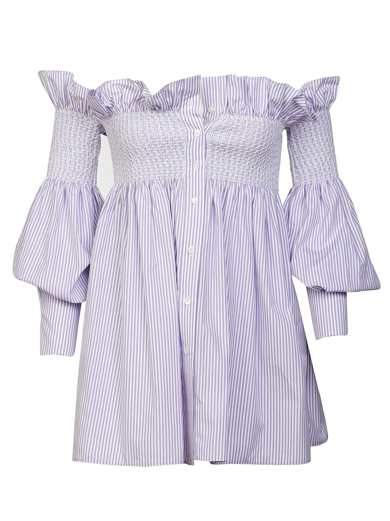 f48537727e33 ERIKA CAVALLINI STRIPED DRESS.  erikacavallini  cloth