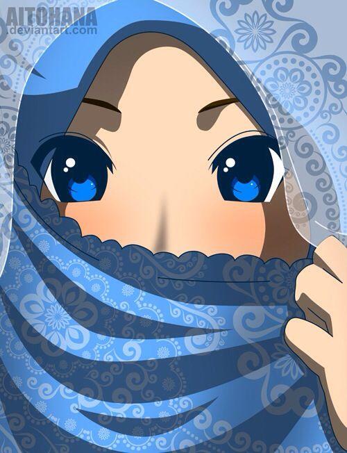 Islamic Anime Anime Muslim Anime Muslimah Hijab Cartoon