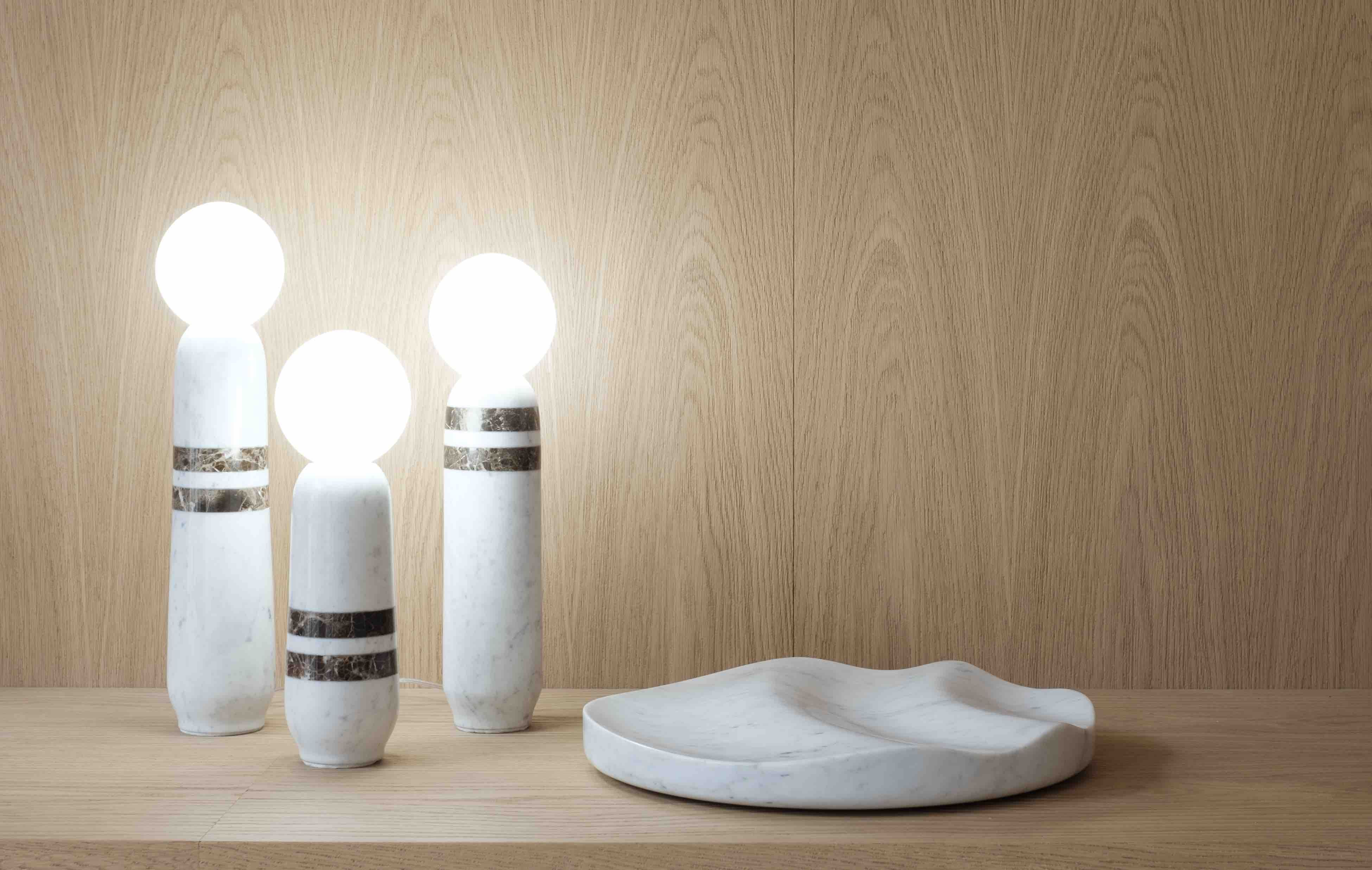 http://collection-particuliere.fr/collection/lightings/skittle-table-lamp/