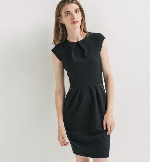 83644264b54778 Robe fifties de Promod (39,95 euros)   fashion en 2019   Robe, Robe ...