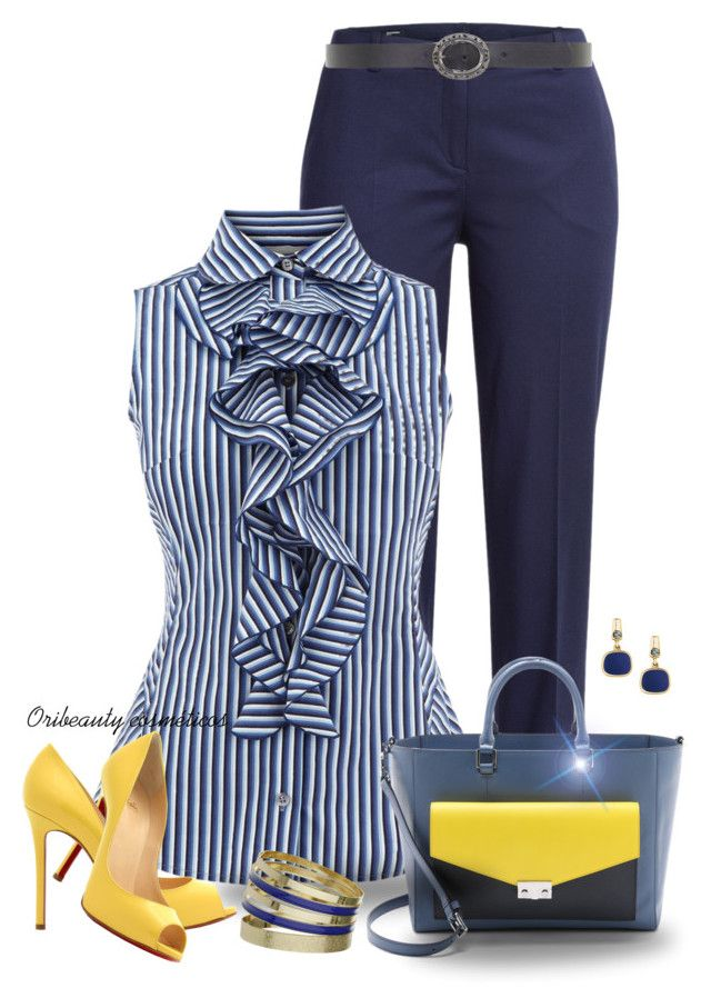 6de8f904a47 Karen Millen Blouse by oribeauty-cosmeticos on Polyvore featuring polyvore  fashion style Jil Sander Navy Tory Burch Dorothy Perkins Principles by Ben  de ...