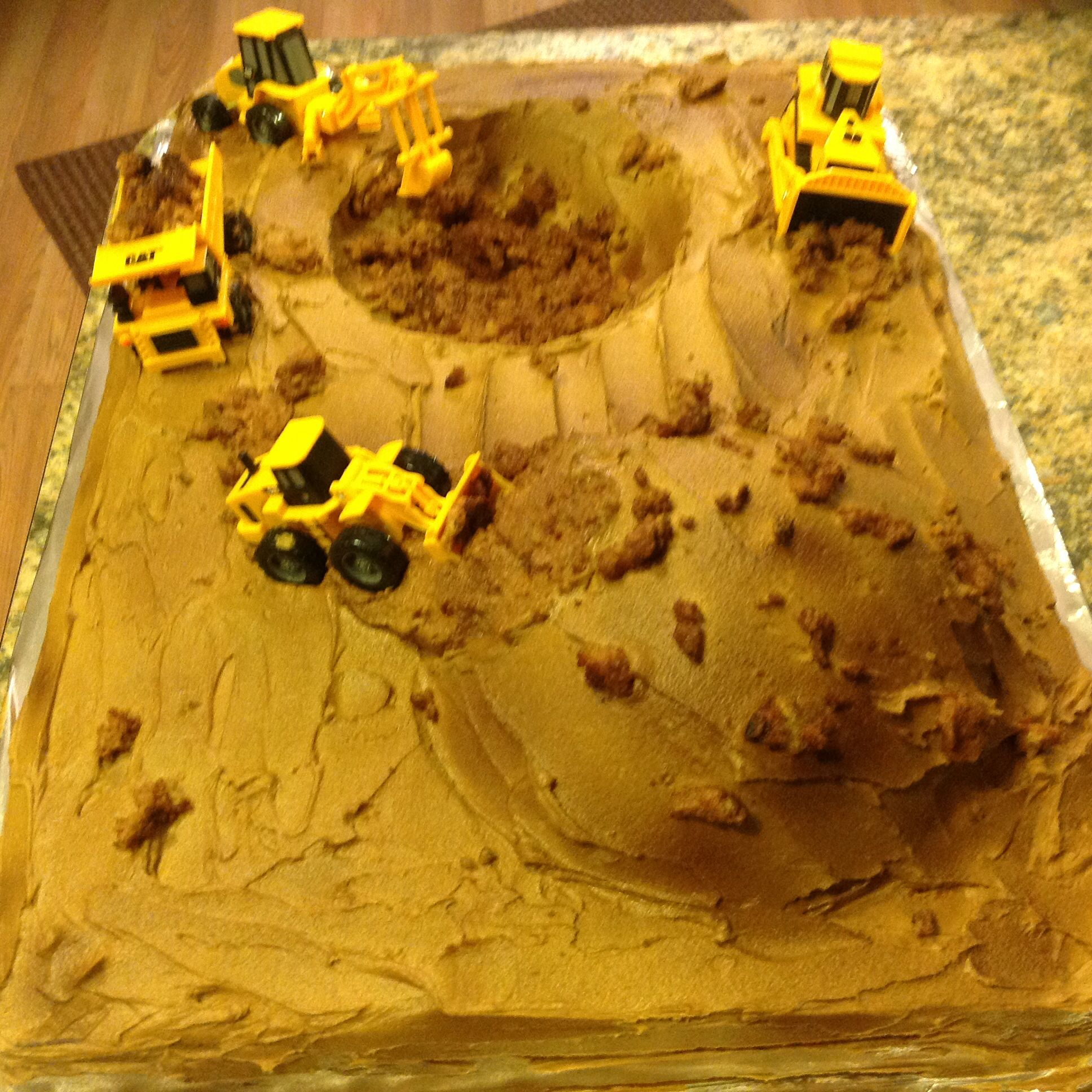 Birthday Cake Heavy Equipment Tractor Coltans 3rd B Day Ideas