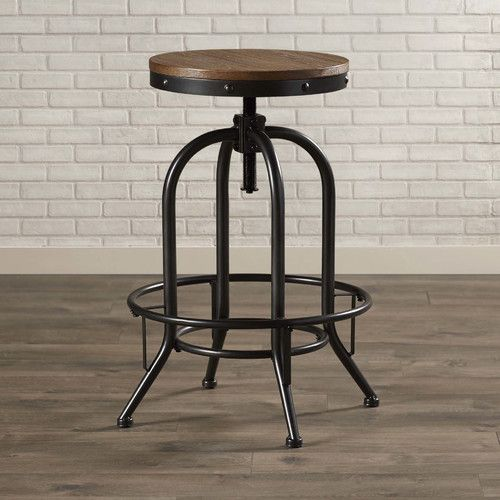 Pleasing Goethe Adjustable Height Swivel Bar Stool Home Decor Squirreltailoven Fun Painted Chair Ideas Images Squirreltailovenorg