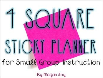 Small Group Lesson Plan Templates  Lesson Plan Templates And