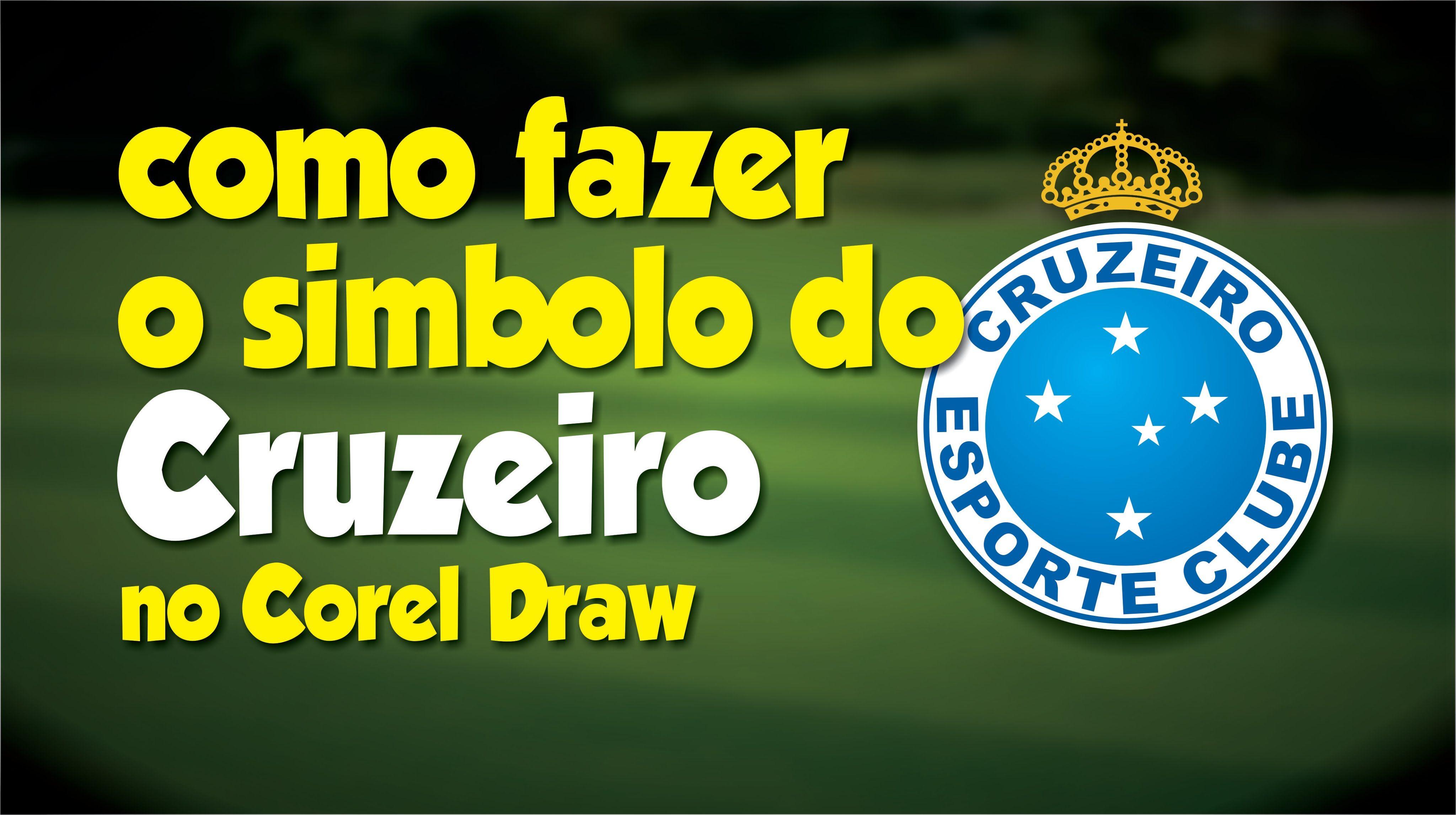 Como fazer o simbolo do Cruzeiro no Corel Draw