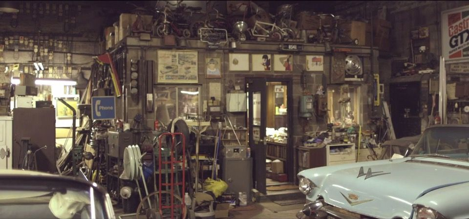 There S An Incredible Collection Of Classic Cars Hiding Away In A