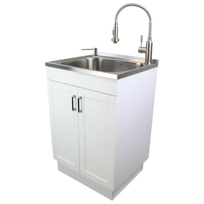 Transolid Transolid Tcs 2420 Wc Laundry Cabinet With Stainless