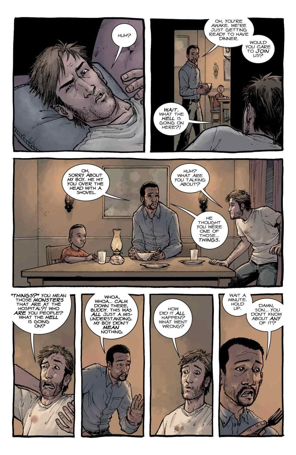 Read Comics Online Free The Walking Dead Chapter 001 Page 17 Walking Dead Comic Book Read Comics Online Read Comics Online Free
