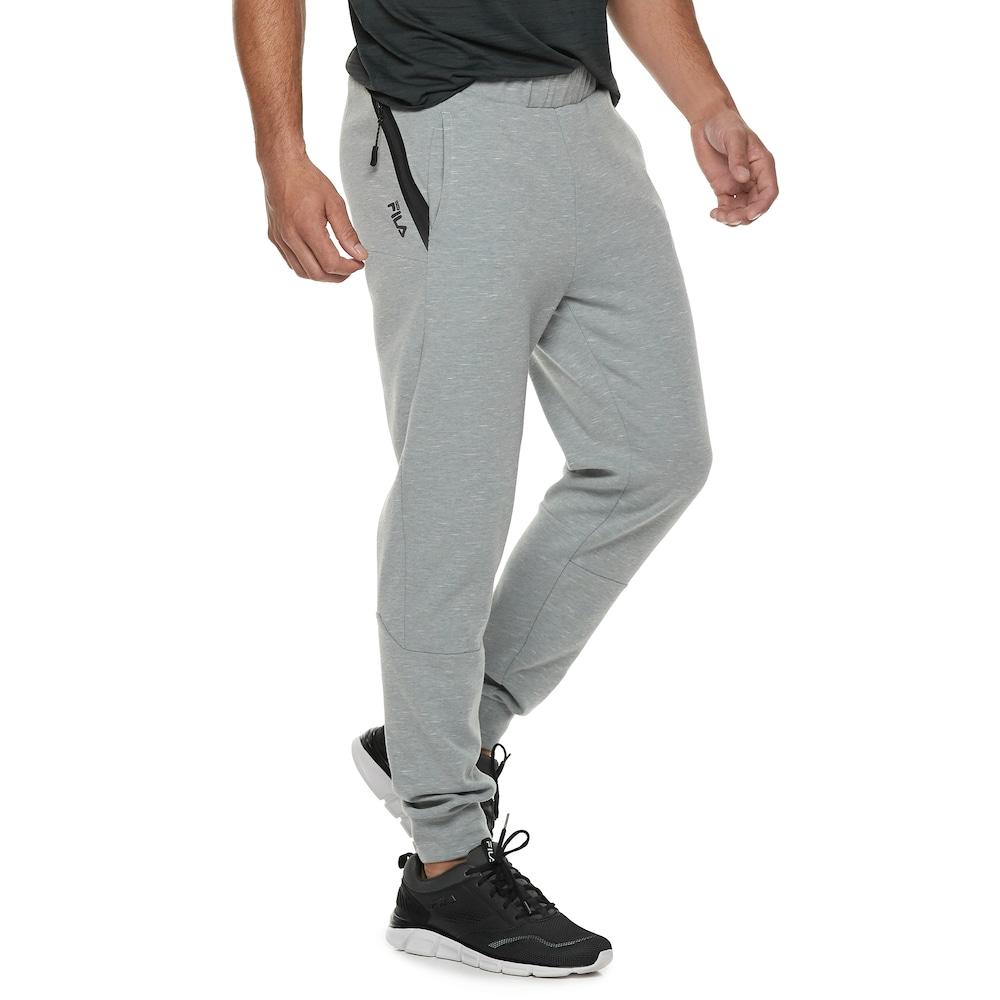 X-Future Men Classic Drawstring Jogger Elastic Waist Active Long Sweatpants