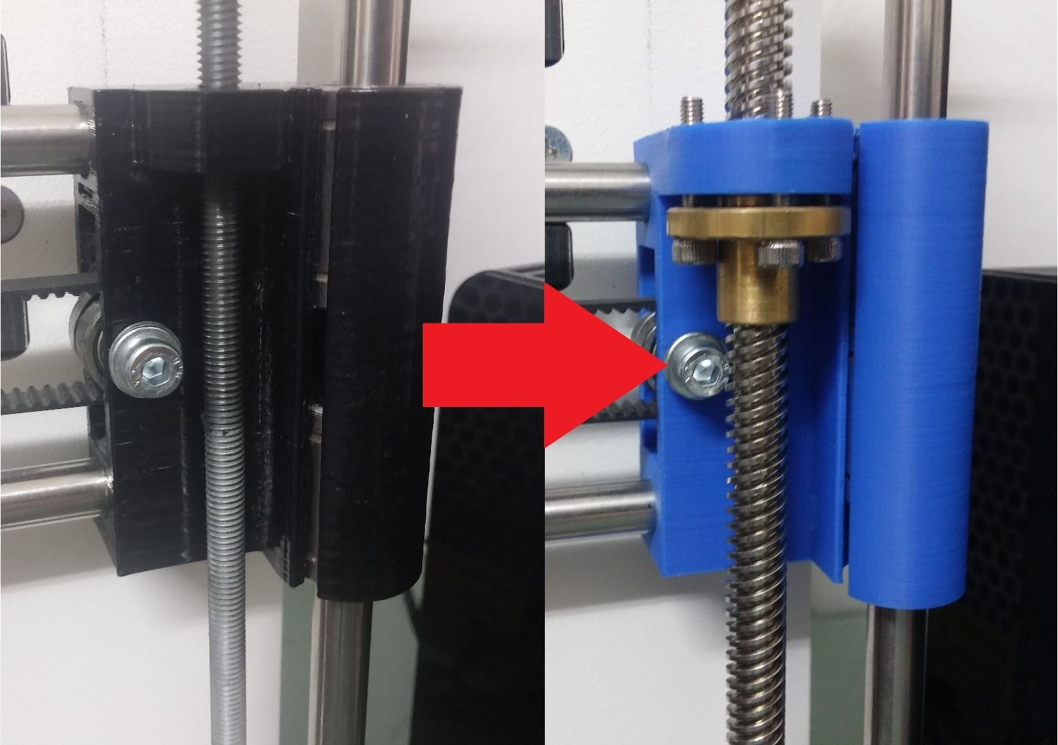 3D Printer Lead Screw Upgrade | CNC | 3d printer, Printer, 3d