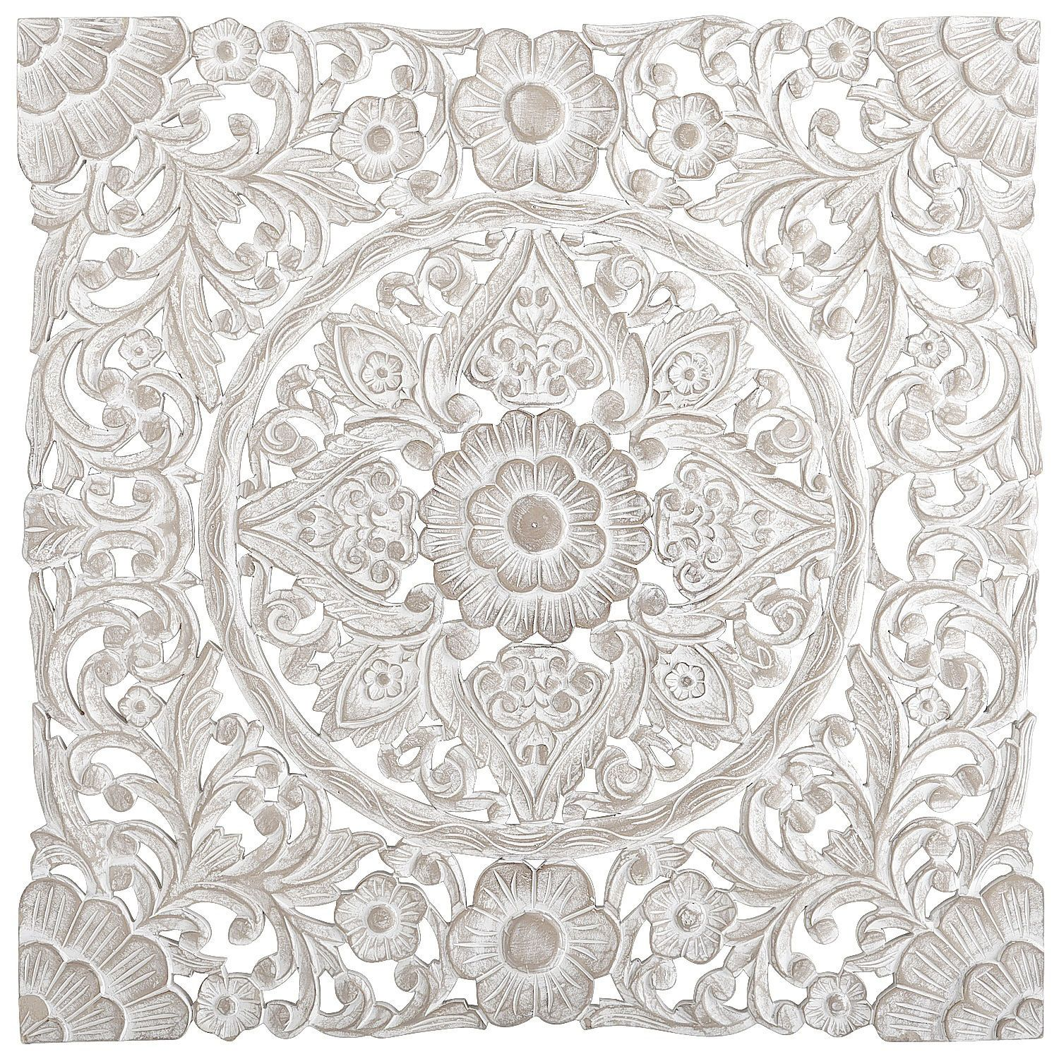 White Carved Wall Decor | Pier 1 Imports 199.00 | master bathroom ...