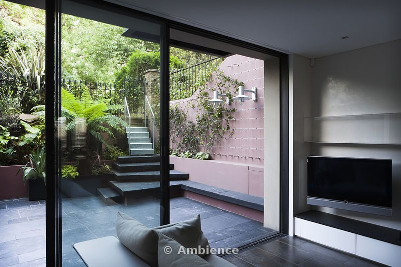 Bildergebnis für basement garden steps indoor outdoor - garten lounge uberdacht
