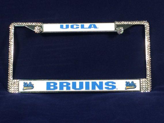 UCLA Bruins Sport Football Frame Crystal Sparkle Auto Bling ...