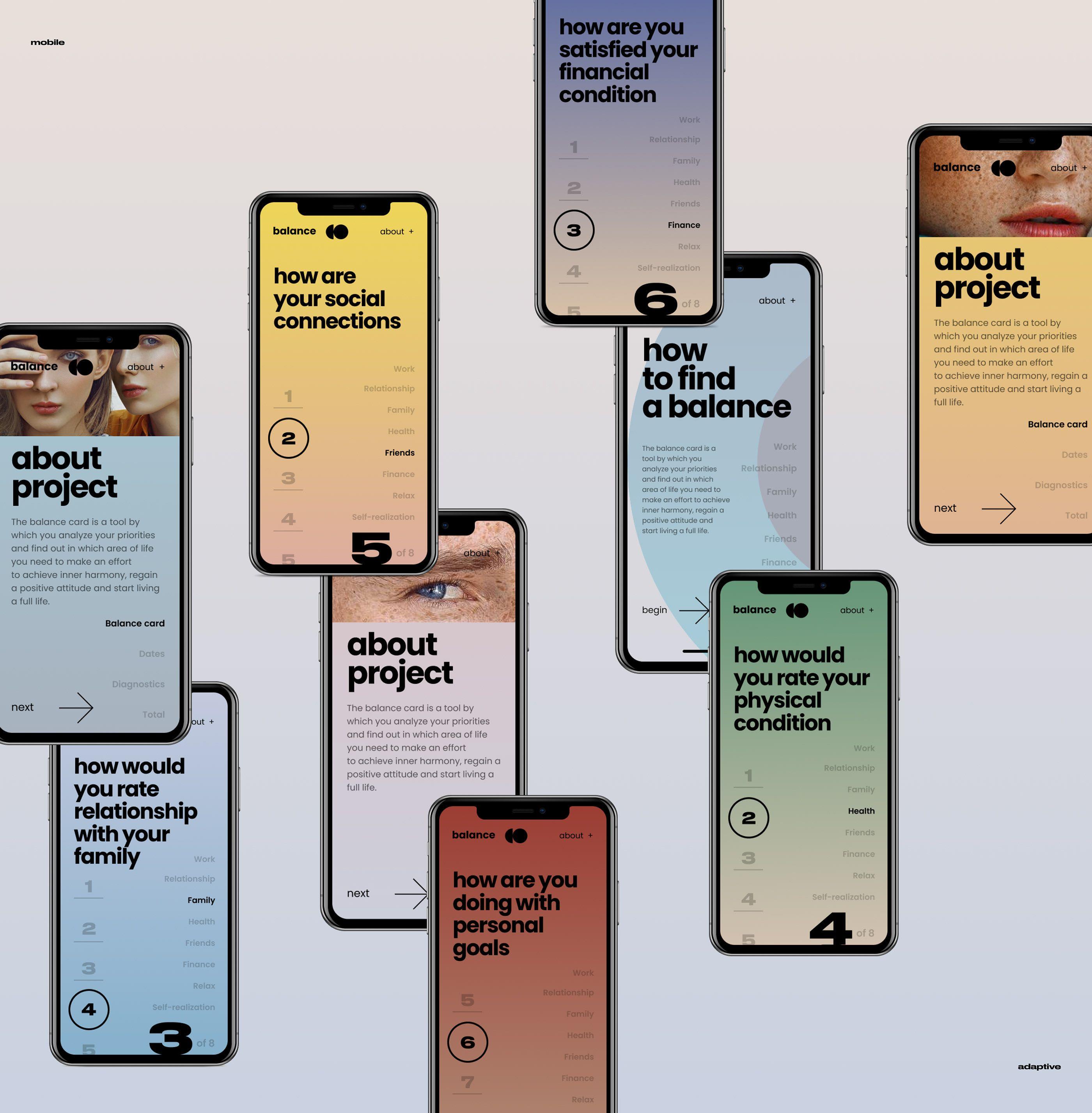 Balance #interfacedesign