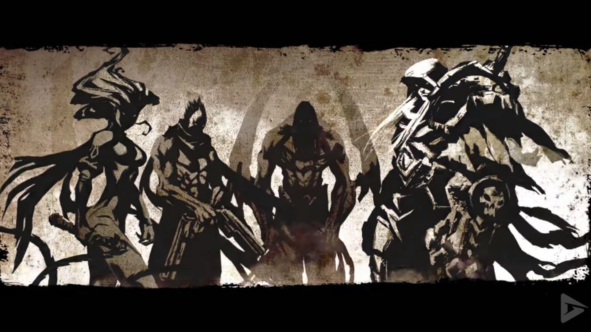 Pin By Javantay Reid On The 4 Horsemen Darksiders Horsemen Horsemen Of The Apocalypse Horseman