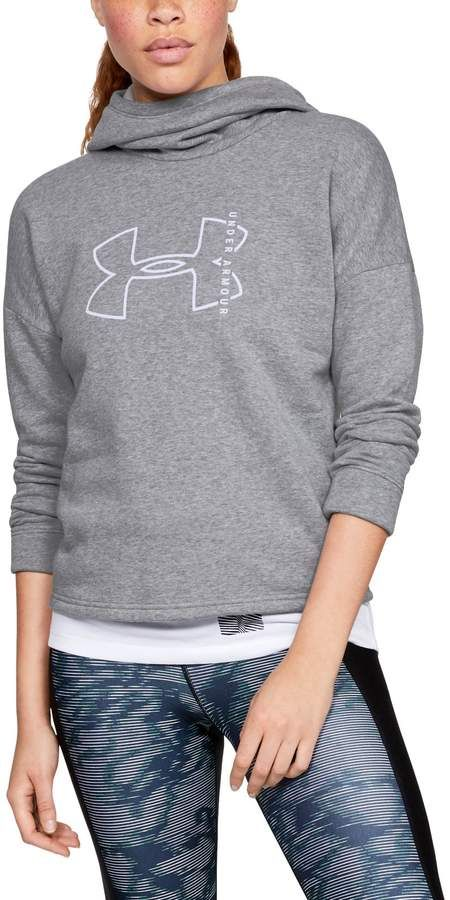 17a582f6a Under Armour Women's UA Rival Fleece Big Logo Hoodie in 2019 ...