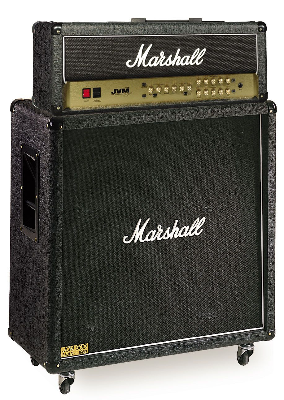 Marshall Jvm210h  1960b Half Stack  With Images