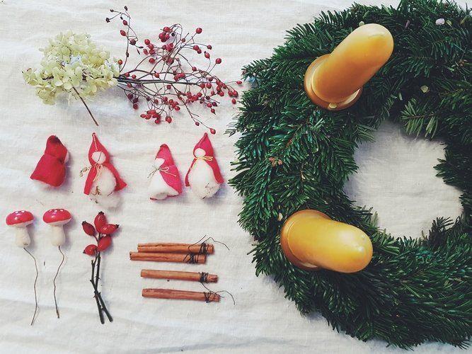 Adventskranz selber machen: 7 echt einfache Ideen  Adventskranz selber machen: 7…,  #Advent…