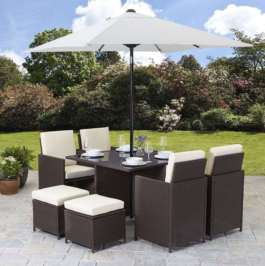 10+ Exceptional Rattan Cube Garden Furniture Tesco Photos