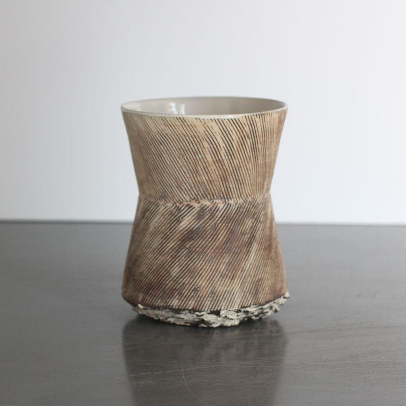 Porcelain Hourglass Vase By Ani Kasten At Heath Ceramics La