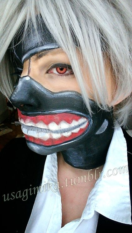 Tokyo Ghoul Face Paint - Google Search | Things I Love | Pinterest