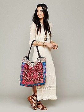 Need it!! Multi colored Bag and white dress!! Ahhhh!!! Love