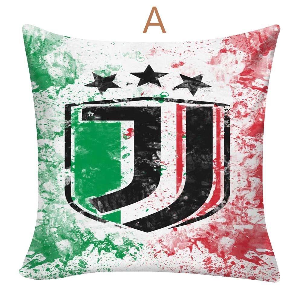 Juventus F.C. 19D Druck Kissebenbezug Kissenhülle 19 cm 19cm