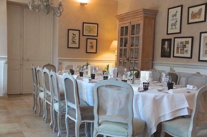 Le Moulin de Valerie Restaurant - Die große Tafel
