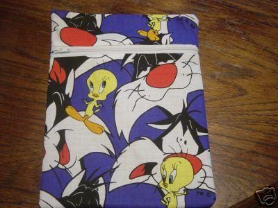 Tweety Sylvester Fabric Purse Bag Tablet Kindle Case   eBay