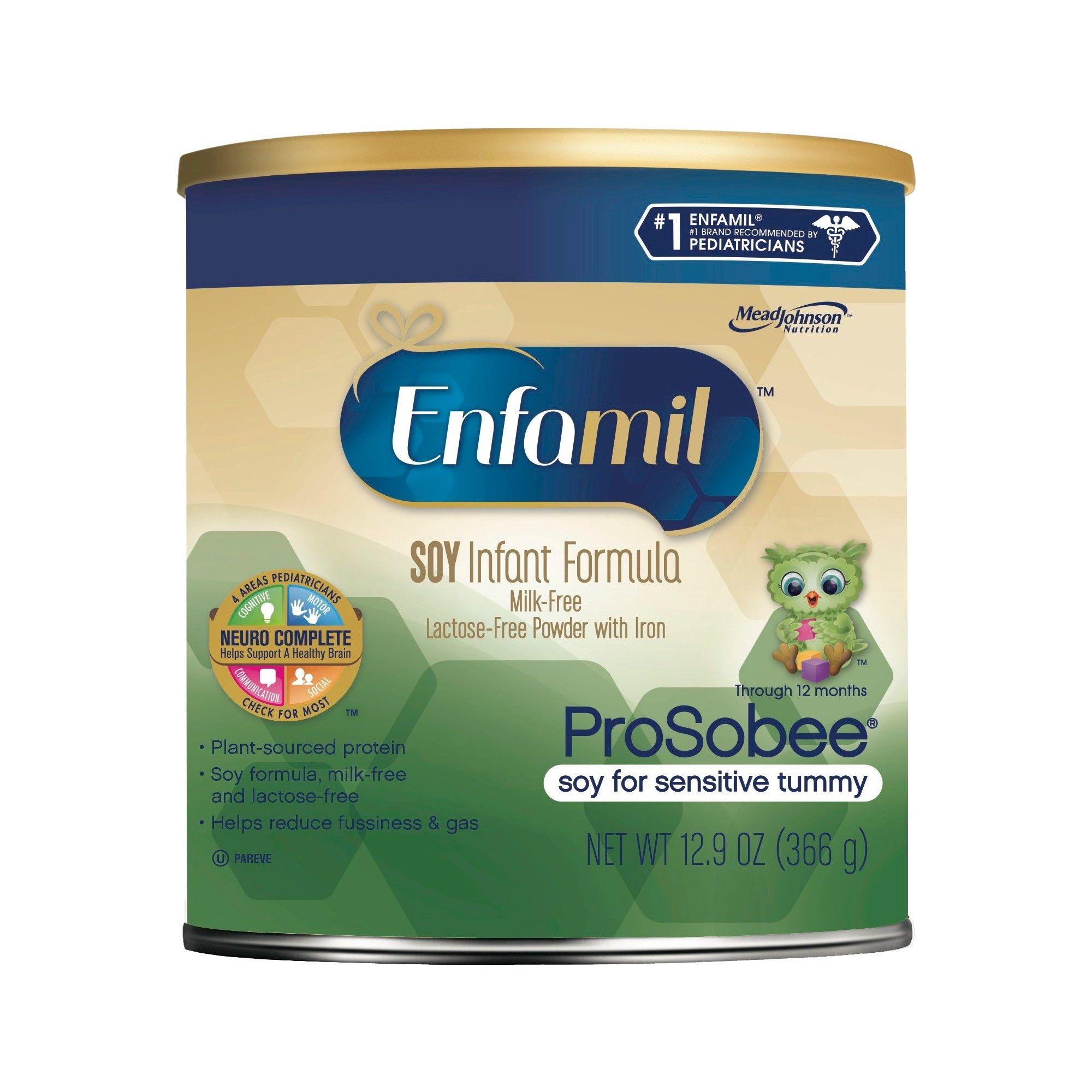 Enfamil Prosobee Soy Infant Formula 129oz Baby Food