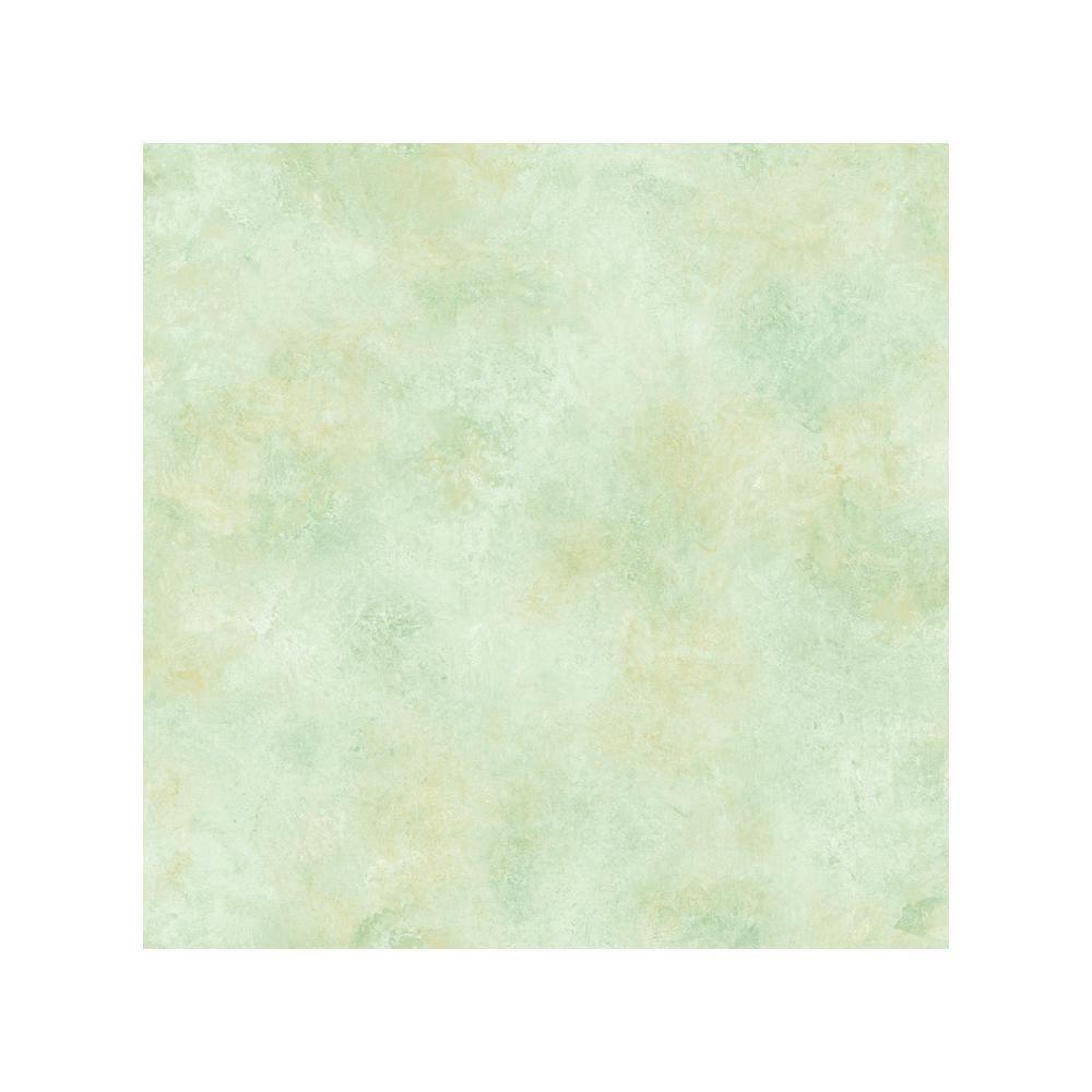 Whisper Aqua Scroll Texture Wallpaper Sample Green