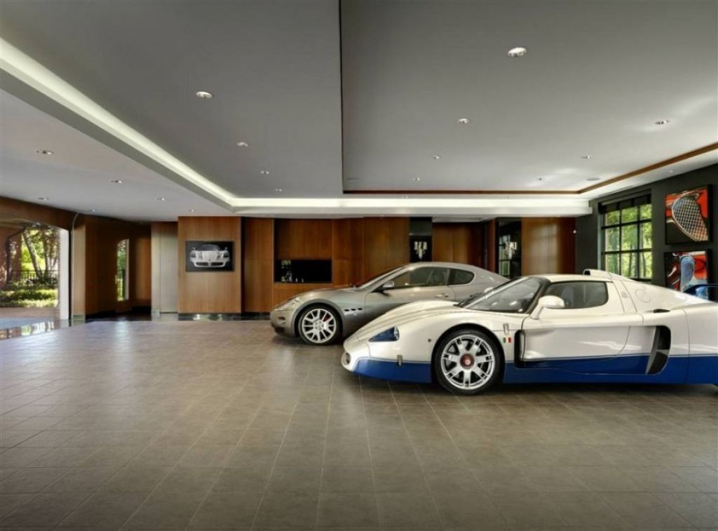 Indoor Garage Lighting Ideas With