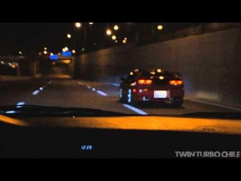 Nissan 300ZX Vs Mitsubishi Lancer Evolution IX - YouTube