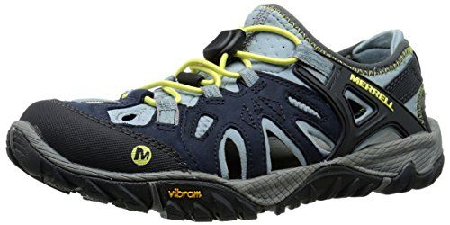504f0c18f3e0 Merrell Womens All Out Blaze Sieve Water Shoe Blue 85 M US    Check this  awesome product by going to the link at the image.