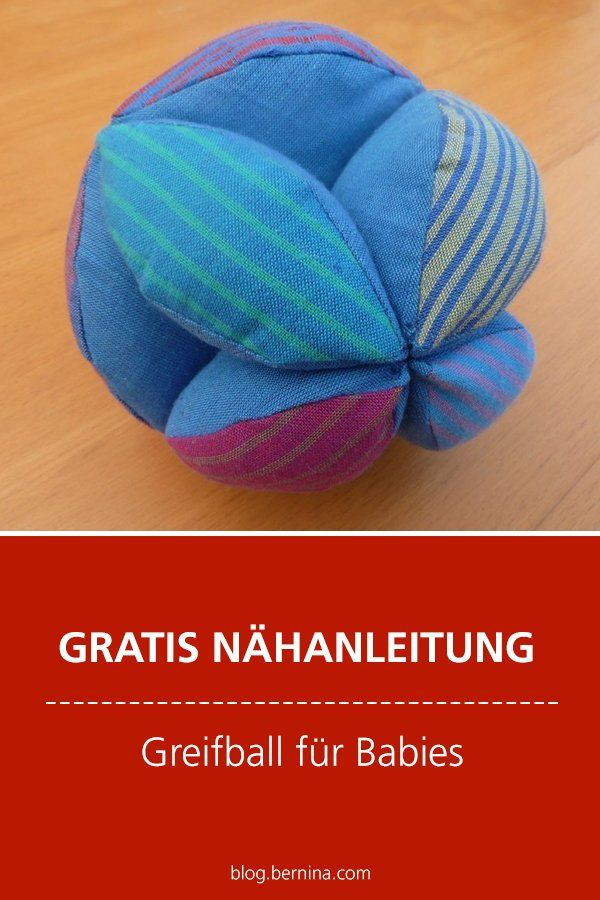 Photo of Kostenlose Nähanleitung: Greifball für Babies nähen