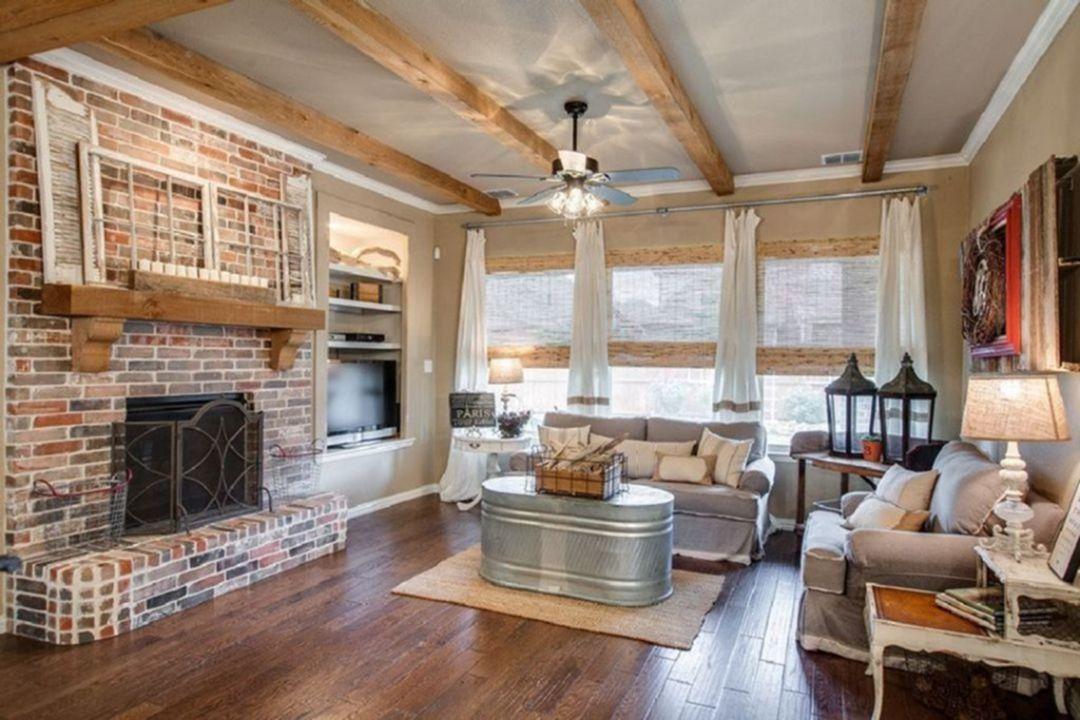 10 Rustic Living Room Decorating Ideas For Pleasant ...