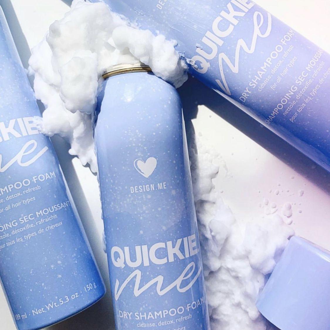 Design Me Quickie Me Dry Shampoo Foam Dry Shampoo Best Dry Shampoo Paraben Free Products