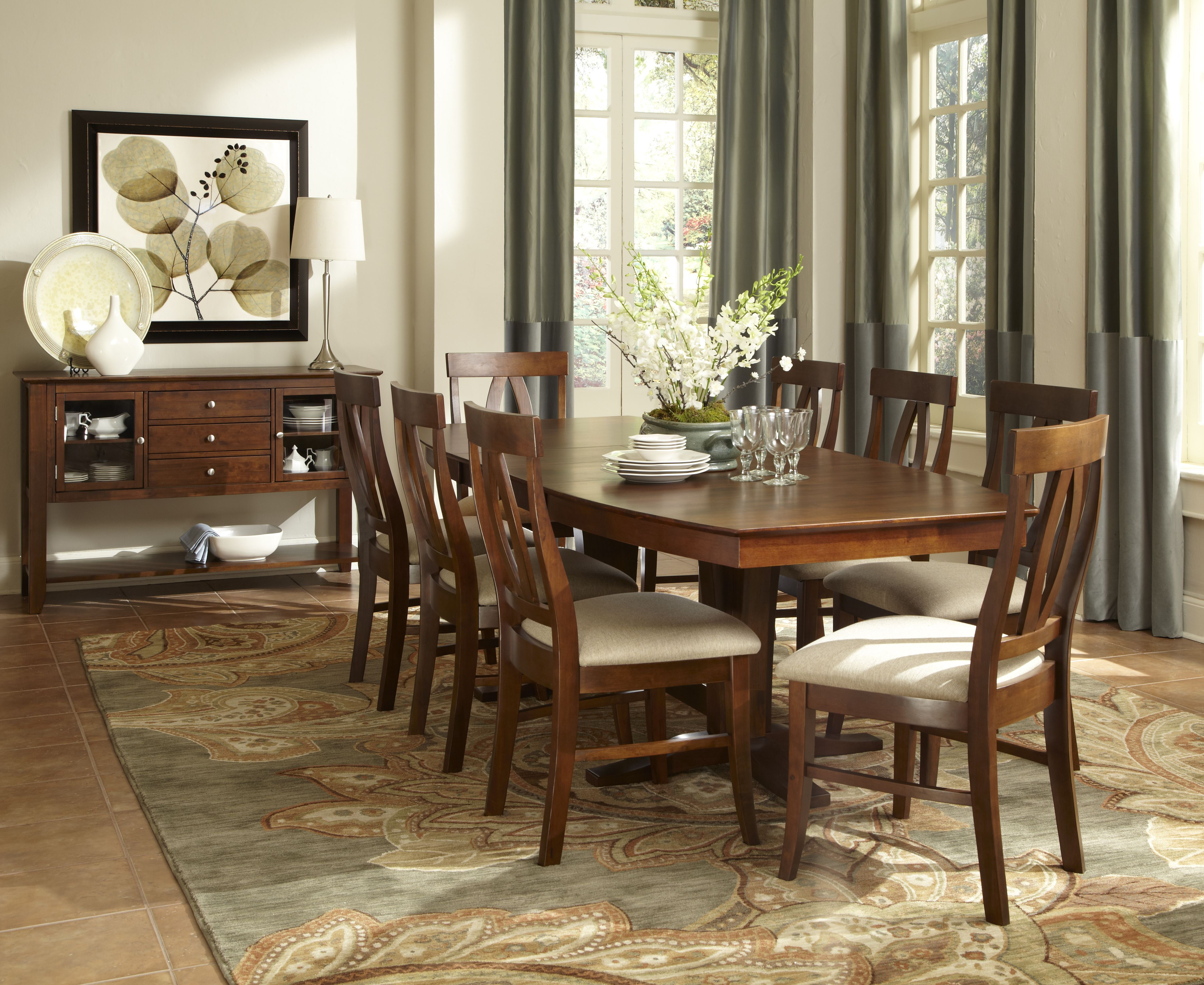 Cosmopolitan Collection At Wood Crafted Furniture Anchorage Ak Impressive Comfortable Dining Room Sets Review