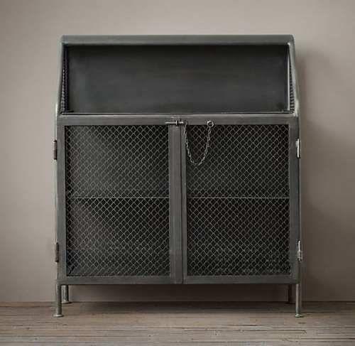mueble bar - barra de hierro