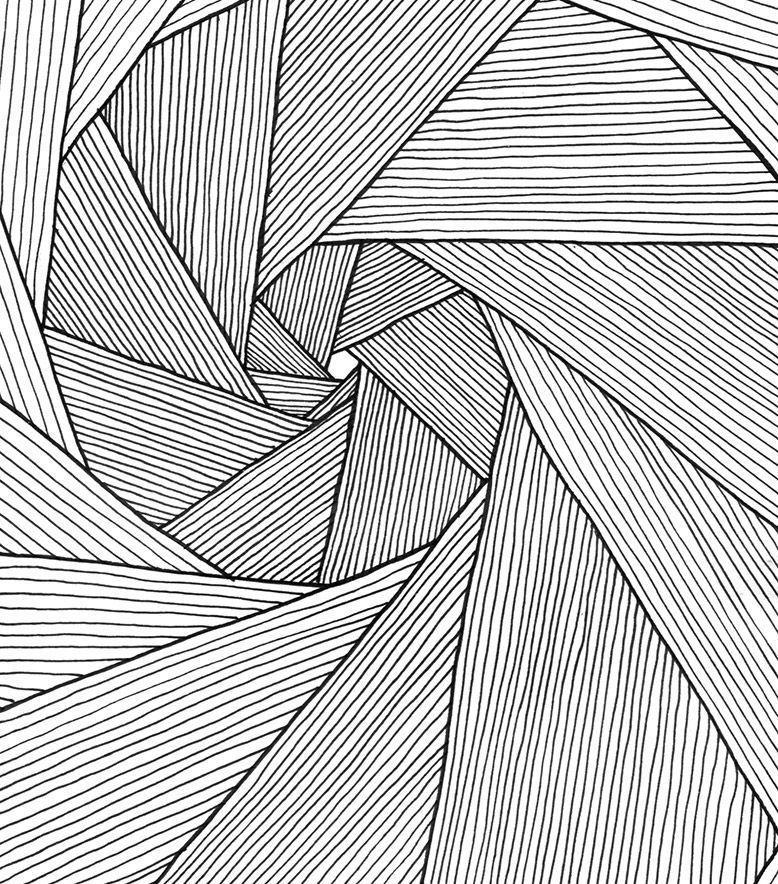 Fototapete Polygonal Hintergrund Nahtlose