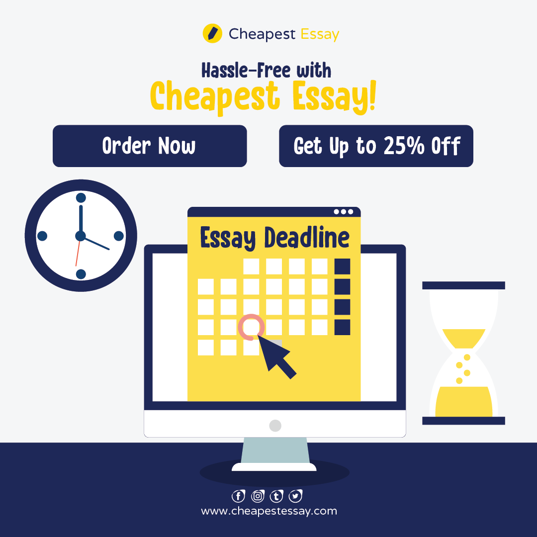 Cheapest essay discount