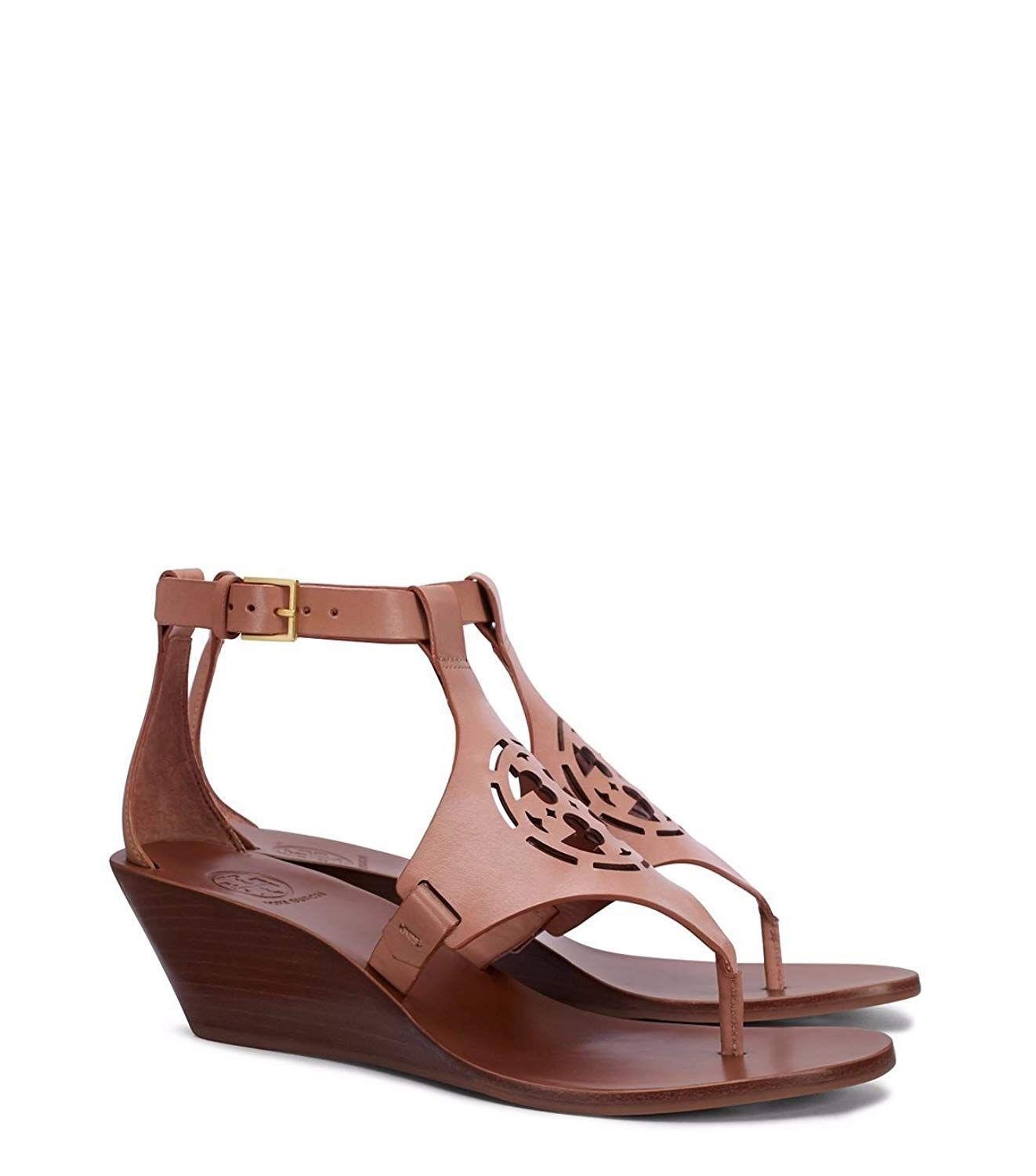 ccd9845f4b1fa4 Tory Burch Zoey 50MM Wedge Sandal Sand Sand -- See this great product.  (This is an affiliate link)  shoes