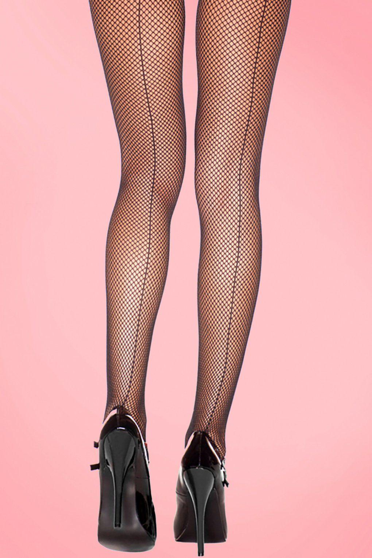 Tiffany Back-Seam Fishnets