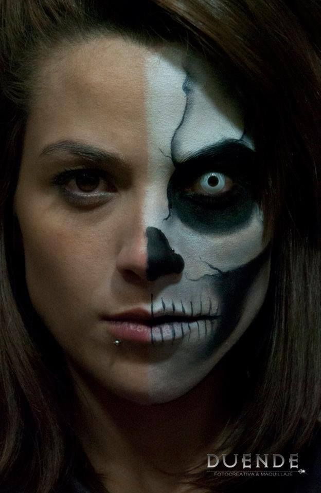 Skeleton Makeup | Photo by @'Duende 'rfs | Day of the Dead