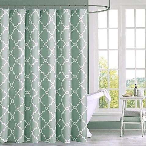 Madison Park Saratoga Shower Curtain Home Essence